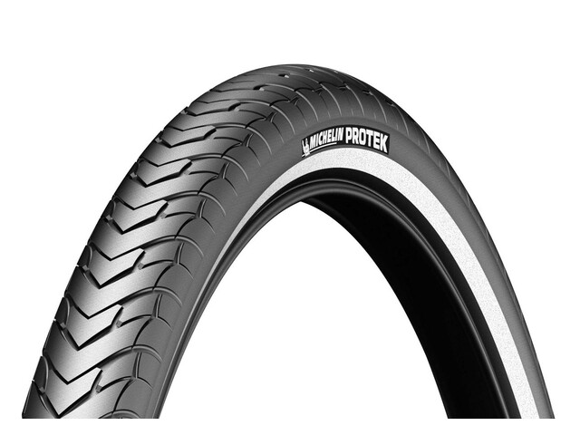 Michelin Protek Bike Tyre 28 inch wire reflex black